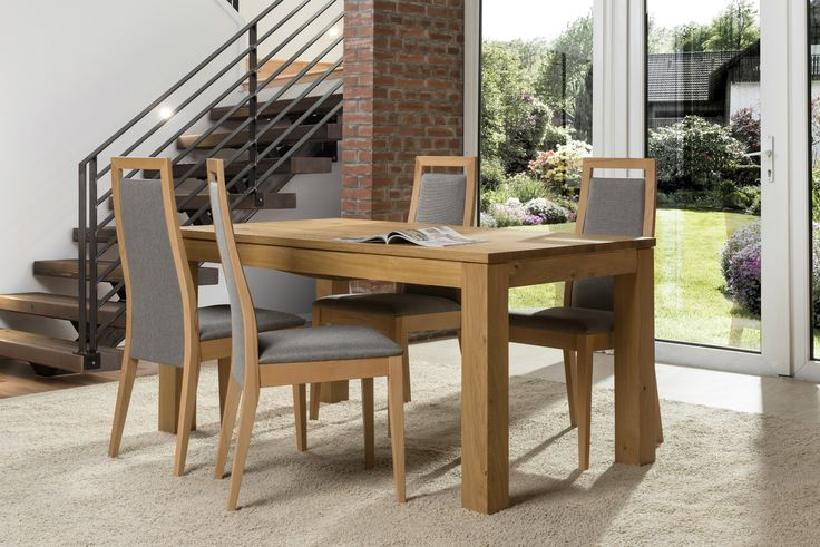 Classic but not in conventional way - Kr 4 chair and T7 table #KloseFurniture #woodentable
