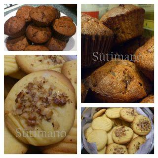 Csokis-erdei gyümölcsös muffin és pudingos keksz
