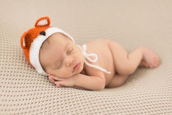 ensaio de recém-nascido, fotografia de recém-nascido em estúdio. Bebe de raposinha, baby boy, newborn, newborn photography