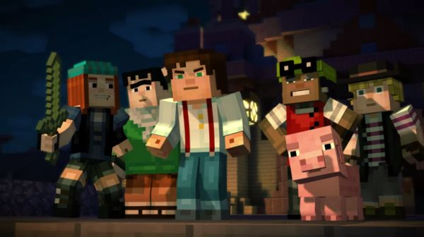 """Telltale/Mojang explain how Minecraft: Story Mode meshes Minecraft with 80s cinema   Coming from a Gamasutra interview with Mojang and Telltale """"When we first sat down with Mojang earlier last year to talk about what the story was going to be we really started with Goonies and Ghostbusters. [There's] survival crafting adventure and if you're playing on a server there's also the themes of playing with your friends."""" - Job Stauffer creative communications director at Telltale  Full interview…"""