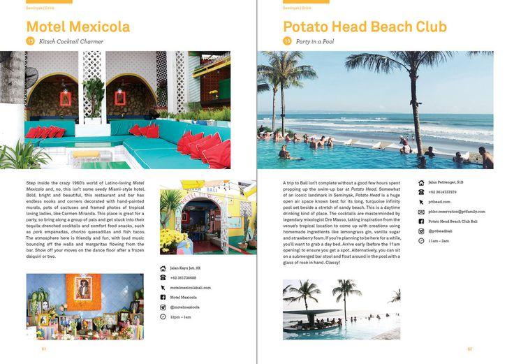 Seminyak - Lost Guides Bali - Motel Mexicol and Potato Head Beach Club