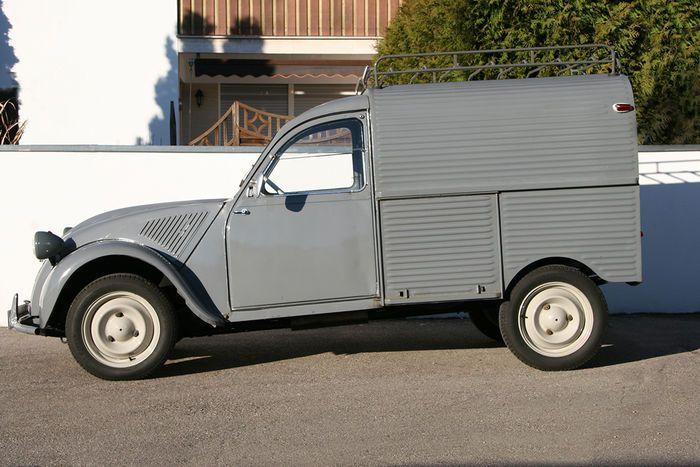 Citroen 2CV AZU - 1960
