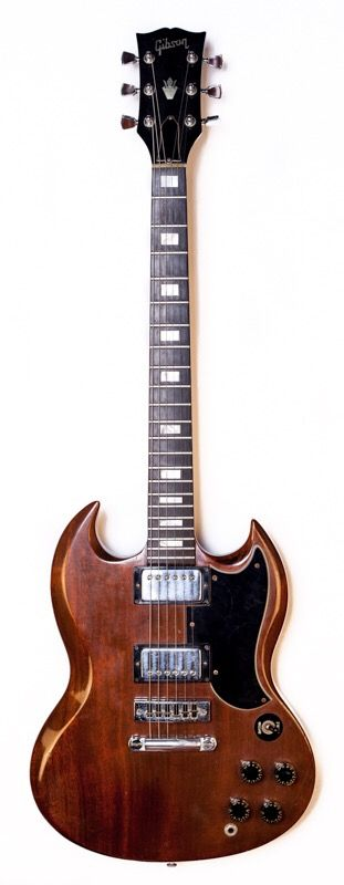 1973 Gibson SG Walnut - Sold! #gibson #sg #electricguitar #gibsonguitars…