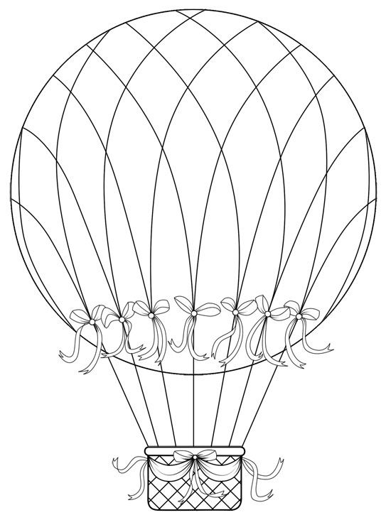 91 Best Images About Adult Colouring Hot Air Balloons On