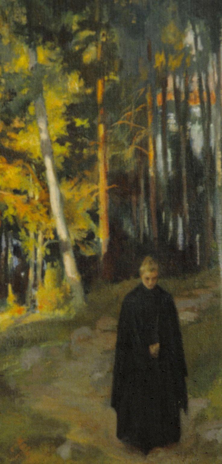 Albert Edelfelt: From the Woods, 1899 (detail).