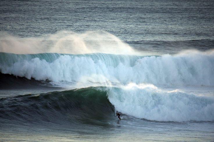 Big waves - Nazare - Praia Do Norte - North Canyon - Portugal