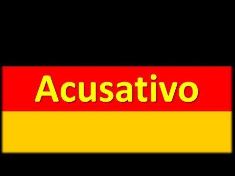 Caso Acusativo [Declinação na língua alemã]