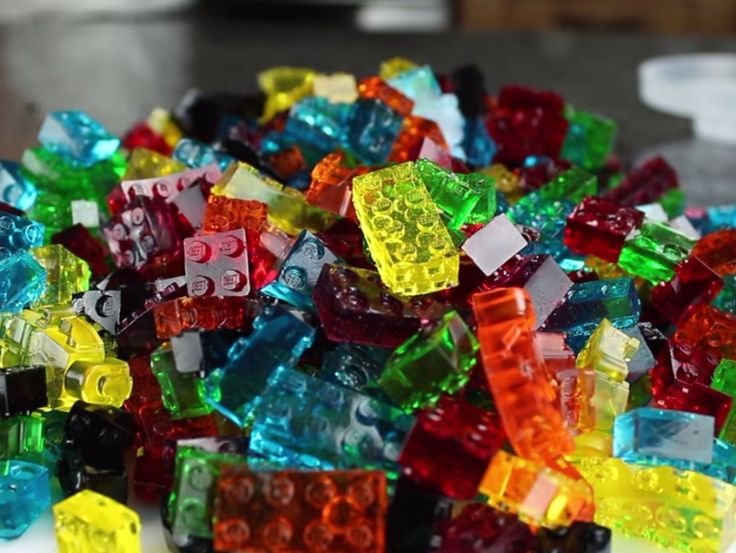 Hopefully he'll have another recipe with alcoholic gummy Legos for adults, and will give new meaning to Jell-O shots.