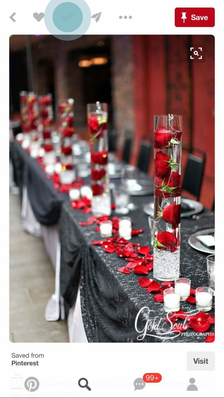 Maroon and white wedding decor   best Wedding ideas images on Pinterest  Wedding ideas Weddings