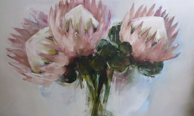 Proteas - 91x152cm Nicole Pletts