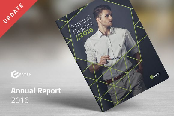 Annual Report 2016 by FathurFateh on @creativemarket