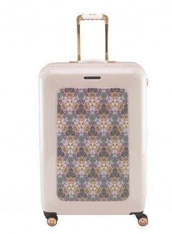 Pink 4 Wheel Suitcase