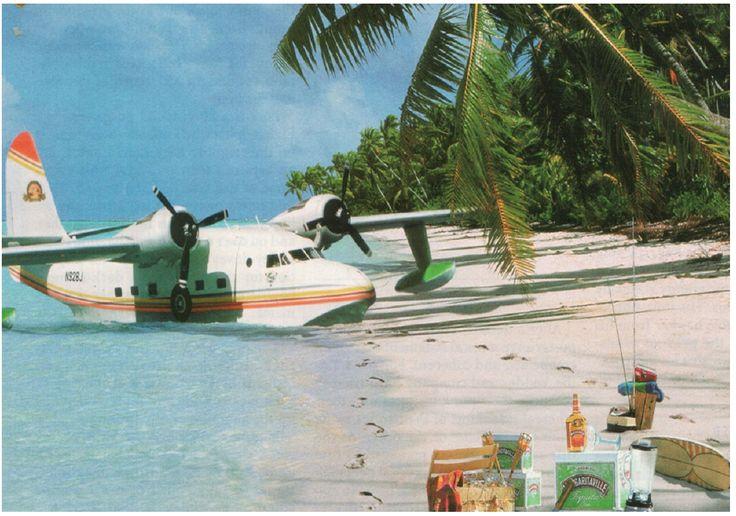 Jimmy Buffett's, Grumman HU-16 Albatross seaplane 'Hemisphere Dancer' <3