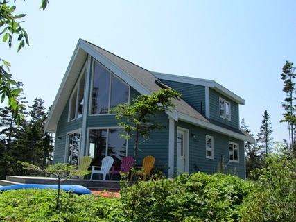 Looking for secluded Nova Scotia getaway - Ragged Island Retreat is a private cottage in a beautiful ocean front setting.