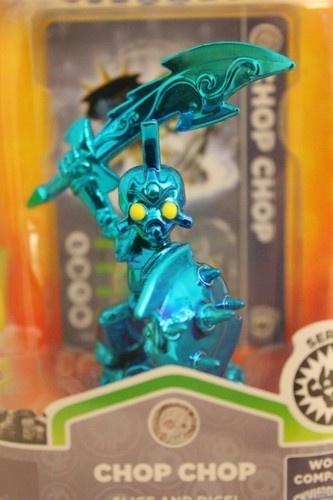 chrome blue metallic chop chop toy fair exclusive