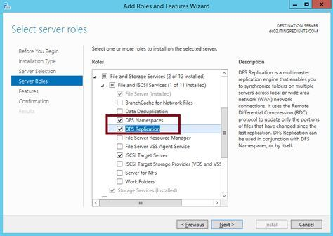 In this article, we'll learn the steps to install DFS on Windows Server 2012 R2.
