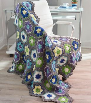 How To Crochet A Flowers In Bloom Throw