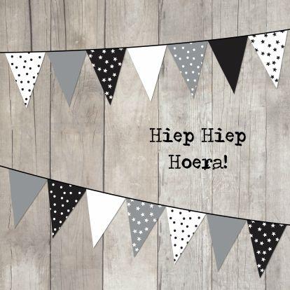 Hippe Verjaardagskaart verkrijgbaar bij Kaartje2go