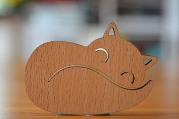 Brooch - Sleeping Fox | Trade Me  Check out one of my 3 new business partners and pick him up for a steal on Trade Me. Hes a cutie!