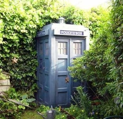 What an awesome garden shed!