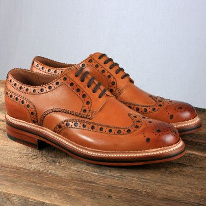 5 of the best leather brogues | The Gentlemans Journal | The latest in style and grooming, food and drink, business, lifestyle, culture, sports, restaurants, nightlife, travel and power.