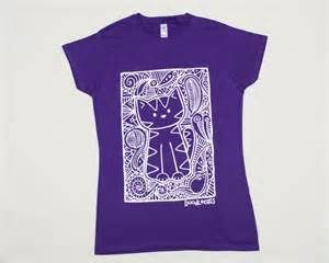 my cat kneads me purple t shirt - Bing images
