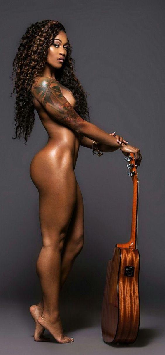 sexy nude black woman