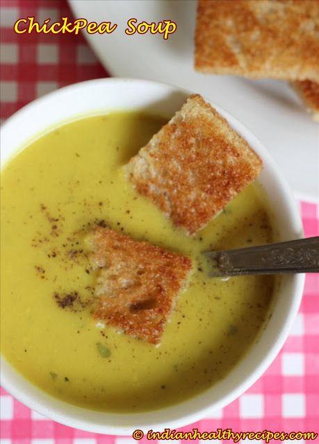 Chickpea Soup Recipe – Healthy Breakfast Soup