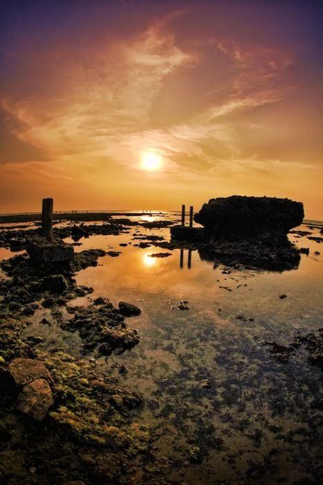 Anyer beach, Banten, Indonesia
