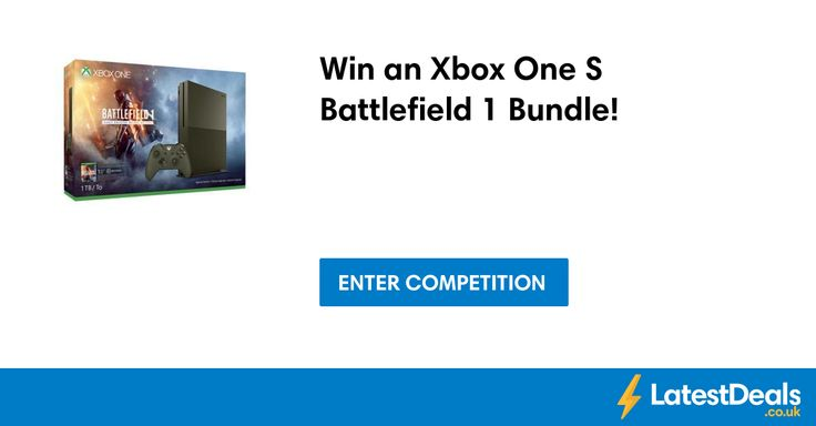 Win an Xbox One S Battlefield 1 Bundle! at Console-deals