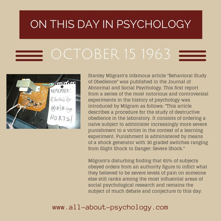 milgram behavioural study of obedience Milgram's study of obedience from psychwiki - a collaborative psychology wiki in an attempt to study destructive obedience in the laboratory, especially in regards to.