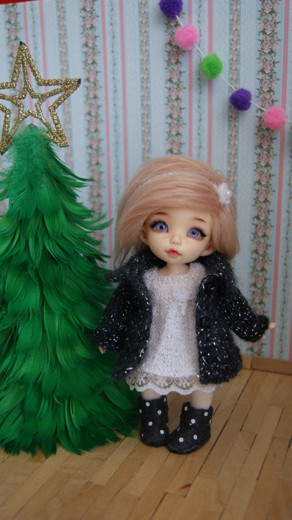 This cardigan  fits Lati Yellow Dolls Dolls PukiFee by CocoDolls