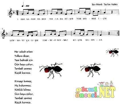 Küçük Karınca - Okul Öncesi NET / Okul Öncesi Forum Sitesi