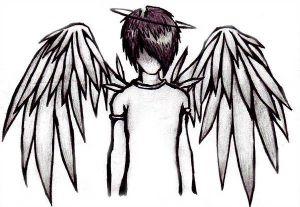 Emo Angel Boy By Skissored En 2019 Art Emo Garçon Anime