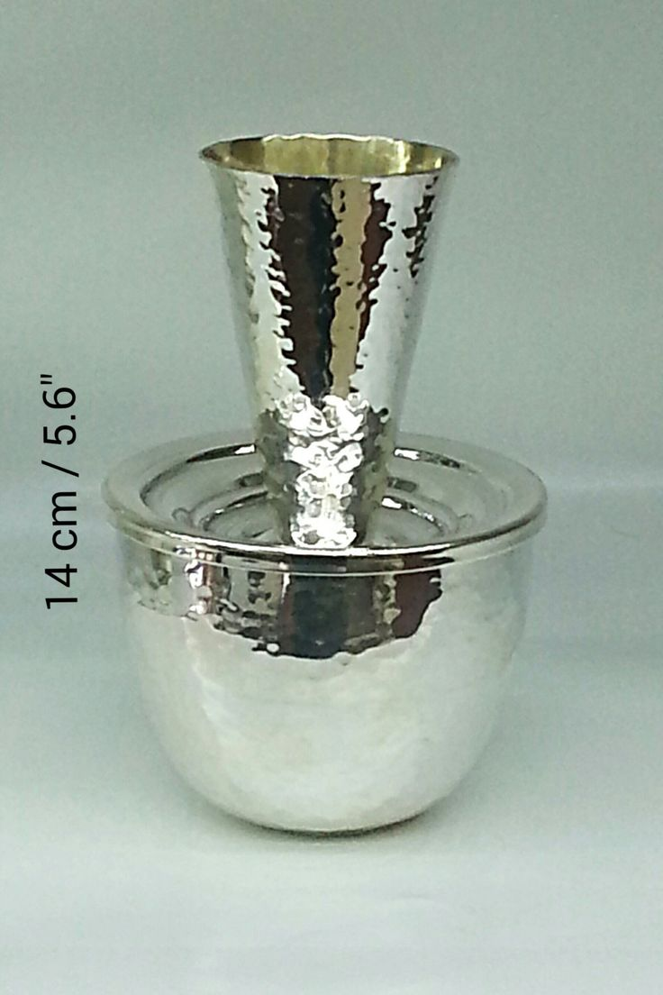 "Stunning  unusual sterling silver ""Mayim Haronim"" by STUBSILVERWARE on Etsy"