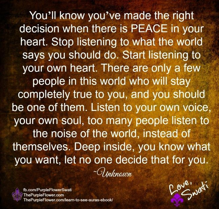 Listen To Your Heart Quotes: Quotes Captions And Articles