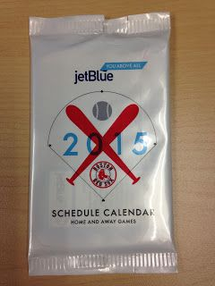 Section 36: Collecting the Sox: Schedule Cards