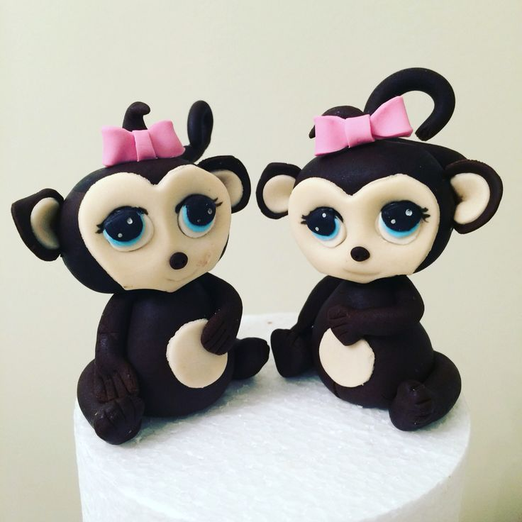 Cheeky Monkey Cake Toppers
