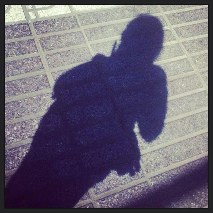 stylin girl shadow art by MaxAna X