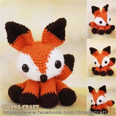 Arctic Fox Amigurumi : 1000+ images about Crochet patterns on Pinterest Free ...