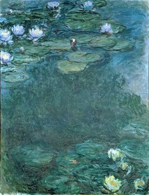 Bild: Claude Monet - Water-Lilies (oil on canvas)