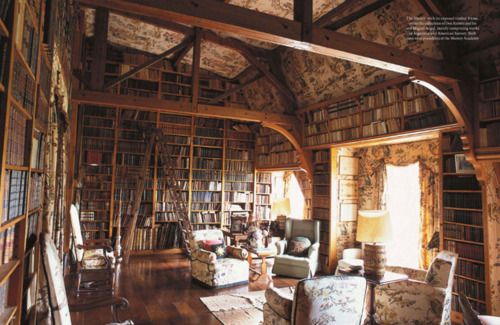 My DreamLibraries Room, Dreams Libraries, Home Libraries, Book Nooks, Dreams House, World Of Interiors, Dreams Room, Places, Heavens