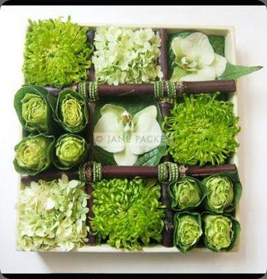 fun: Centerpiece, Floral Design, Color, Green, Flower Arrangements, Packers, Floral Arrangements, Flowers