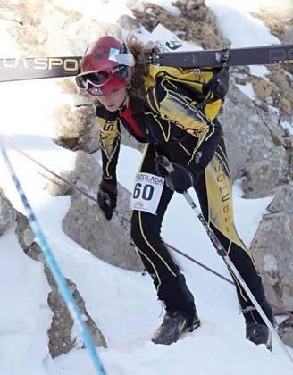 Athlete: Nadia Scola (it) - La Sportiva Stratos Evo - Rsr skis