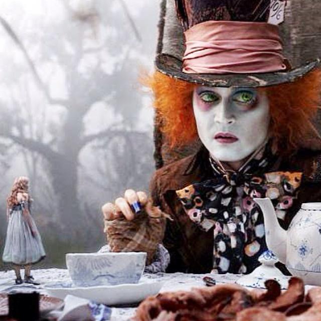 Alice in Wonderland, Johnny Depp, Mad Hatter