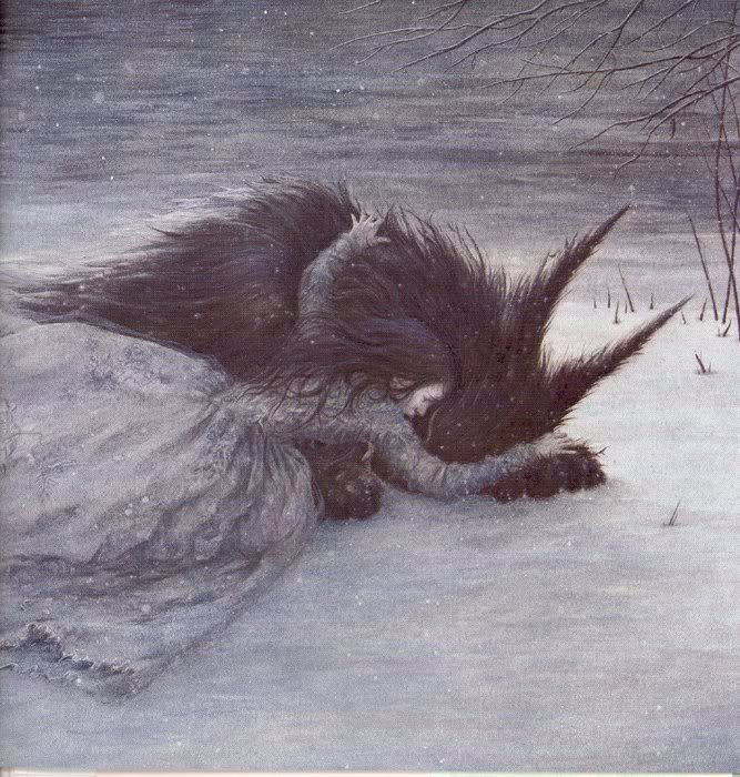"""Max Eilenberg """"Beauty and the Beast"""" – Illustrated by Angela Barrett."""