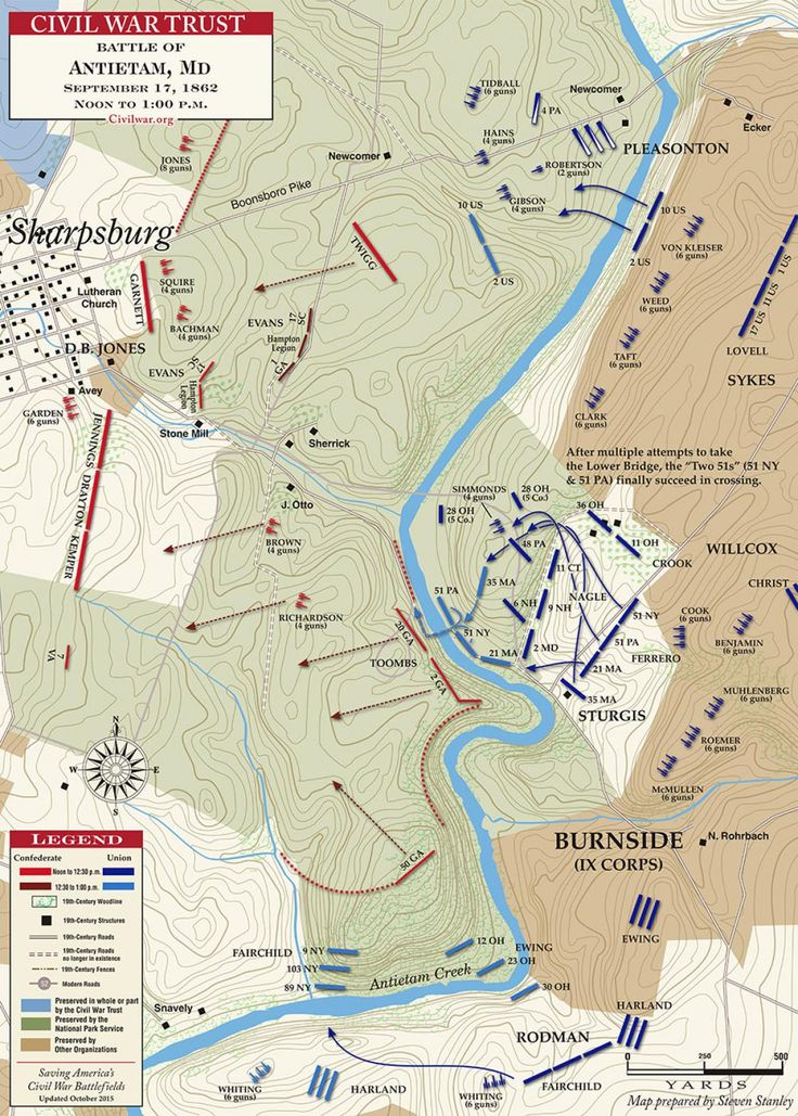 Best История Images On Pinterest Civil Wars Maps And - Antietam on us map