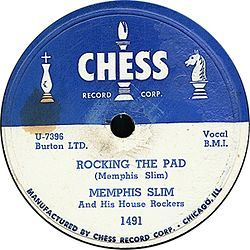 """biggest hit of the year.[3]    In 1951, the Chess brothers began an association with Sam Phillips' Memphis Recording Service.[3] One of the most important recordings that Phillips gave to Chess was """"Rocket 88"""" by Jackie Brenston and his Delta Cats which topped Billboard magazine's R Records chart[4] and was inducted into the Grammy Hall of Fame in 1998 because of its influence as a rock and roll single.["""
