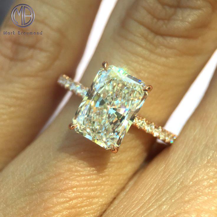 Timeless 2.52ct Radiant Diamond Engagement Ring