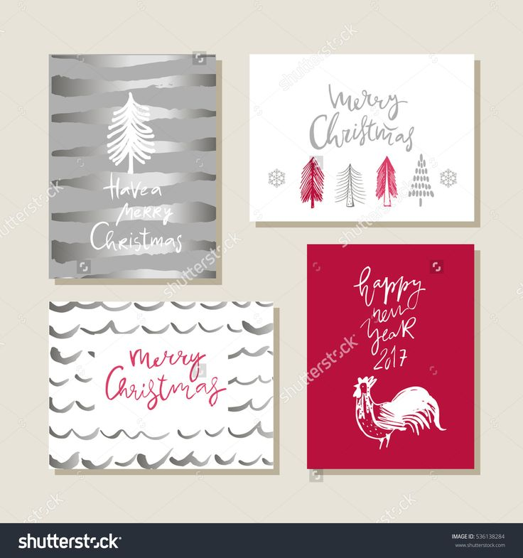 Hand Drawn Christmas Set Cards.Merry Christmas- Writter By Hand. Holiday Background.Doodle Design Elements. Unique Hand Drawn Greeting Cards.Vector Illustration. - 536138284 : Shutterstock